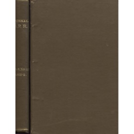 Journal of the Society for Psychical Research, bound volume combining issues for 1903 and 1908