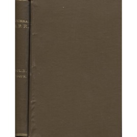 Journal of the Society for Psychical Research, bound volume 1901 - 1902