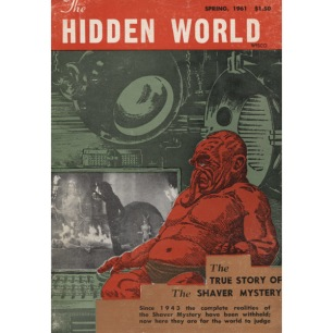 Hidden World (Ray Palmer, 1961-1964) - 1961 No A-1, acceptable