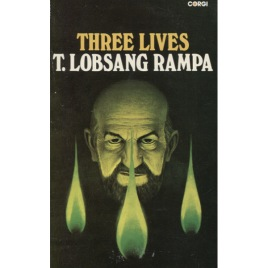 Rampa, T. Lobsang [Cyril Hoskins]: Three lives (Pb)