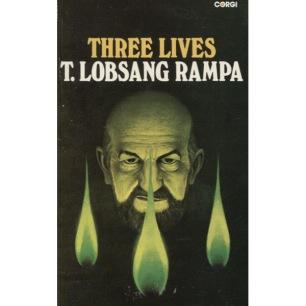 Rampa, T. Lobsang [Cyril Hoskins]: Three lives (Pb)