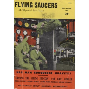 Flying Saucers (1957-1961) - 30 - July/Aug 1958 - worn/torn but complete