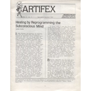 Artifex (1985-1993) - Vol 4 n 4 - Sept/Oct 1985