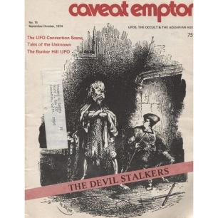 Caveat Emptor (1988-1990), second series - No 15 - Sept-Oct 1974