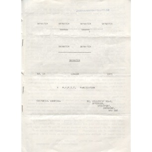 Skywatch Mapit News (1975 - 1981) - No 15 - August 1975