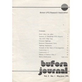 BUFORA Journal (1976 -1977, volume 5)
