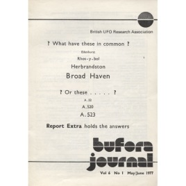 BUFORA Journal (1977 - 1978 volume 6)
