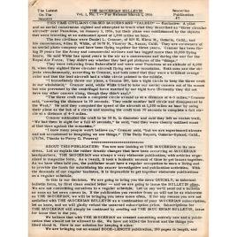 Saucerian Bulletin (1956-1958)