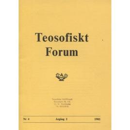Teosofiskt Forum (1982-1986)