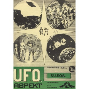 UFO Aspekt (1971-1974) - 1971 vol 3 no 2,  Ap