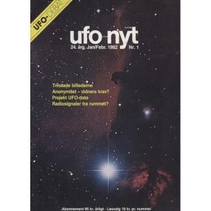 UFO-Nyt (1982) - 1982 No 01 Jan-Feb