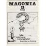 Magonia (1979-1986) - 1983 No. 13 (MUFOB 62)