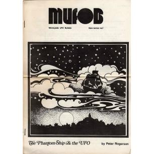 MUFOB (Merseyside UFO Bulletin) (1976-1979) - 01 - (Jan?) 1976 (A4 size)