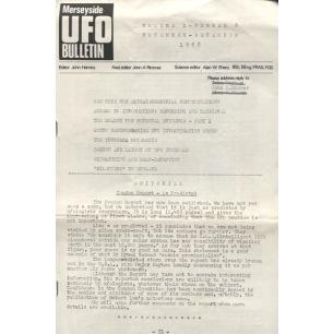 Merseyside UFO Bulletin (1968-1973) - v 01 n 6 - Nov/Dec 1968