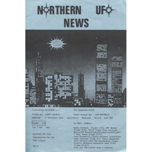 Northern UFO News (1983-1985) - 100 - Jan/Feb 1983