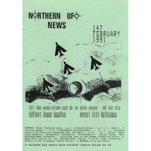 Northern UFO News (1991-1994) - 147 - Febr 1991