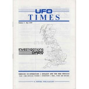 UFO Times (1989-1997) - 1 - May 1989