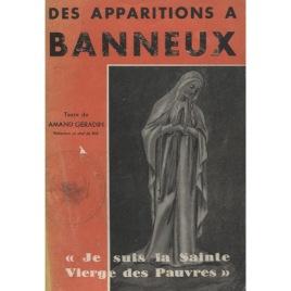 Géradin, Amand: Des apparitions à Banneux