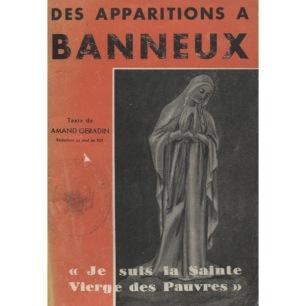 Géradin, Amand: Des apparitions à Banneux - Good