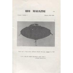 UFO Magazine (Rick Hilberg, 1964-1969) - 1965 Vol 3 No 02 (16 pages)