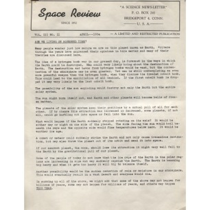 Space Review (1954) - 1954 April Vol 3 No 02