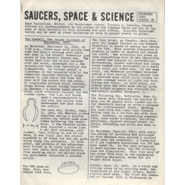 Saucers, Space & Science (1962-1972)
