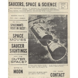 Saucers, Space & Science (1962-1972) - 1964 No 35