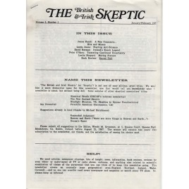 British & Irish Skeptic, The (1987-1990)