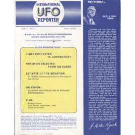 International UFO Reporter (IUR) (1976-1979)