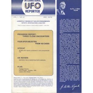 International UFO Reporter (IUR) (1976-1979) - V 1 n 02 - December 1976