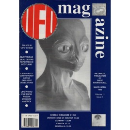 UFO Magazine (Birdsall, UK) (1992-1993)