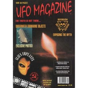 UFO Magazine (Birdsall, UK) (1996-1997) - Jan/Feb 1996