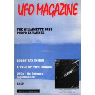 UFO Magazine (Birdsall, UK) (1994-1995) - Jan/Feb 1994 (v 12 n 6)