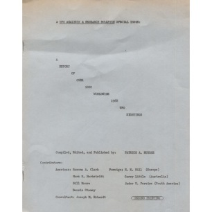 UFO Analysis & Research Bulletin (1969) - 1969 Vol 1 No 04 (special issue)