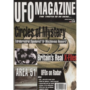 UFO Magazine (Birdsall, UK) (2000-2001) - 2000 Jan/Febr