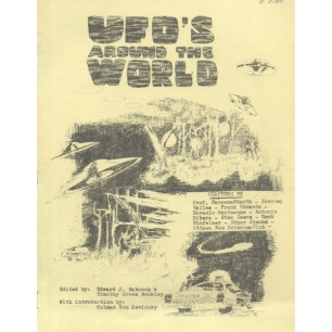 Babcock, Edward J. & Timothy G. Beckley (editors): UFO's around the world - Very Good, yellow cover.