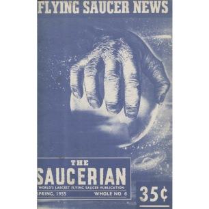 Saucerian (1955) - 1955 Spring No 6