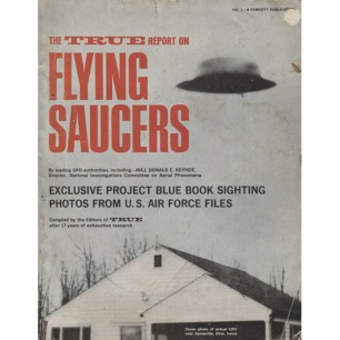 New/True Report On Flying Saucers (1967) - No 1 (torn spine)