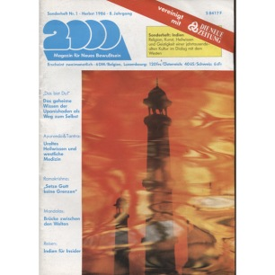 2000 Magazin (1987 - 1999) - 1986, Nr 1 - Herbst