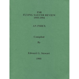 Stewart, Edward G.: FSR(Flying Saucer Review). 1955-1994; An index.