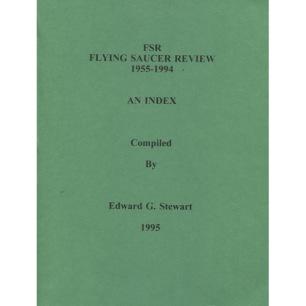 Stewart, Edward G.: FSR(Flying Saucer Review). 1955-1994; An index. - Very good