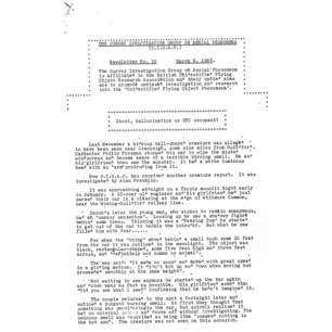 Surrey Investigation Group On Arial Phenomena (S.I.G.A.P.)(1968-1969) - 1968 No 10