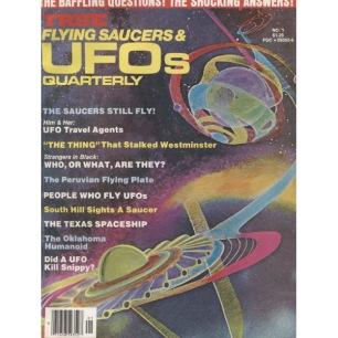 True Flying Saucers & UFOs Quarterly (1976-1979) - No 01 1976