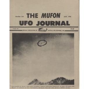 MUFON UFO Journal (1976-1978) - 104 - July 1976