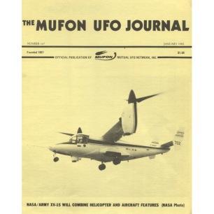 MUFON UFO Journal (1982-1984) - 167 - Jan 1982