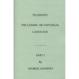 Adamski, George: Telepathy: the cosmic or universal language (part 1 - 3)