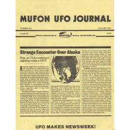 MUFON UFO JOURNAL (1987 - 1988)