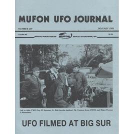 MUFON UFO Journal (1989-1990)