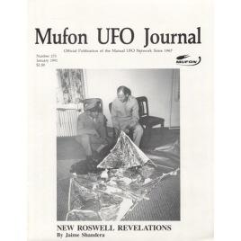 MUFON UFO Journal (1991-1992)
