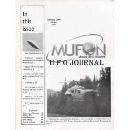 MUFON UFO Journal (2007 - 2008)